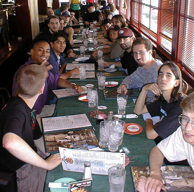 The gigantic last meal at Bennigan's.