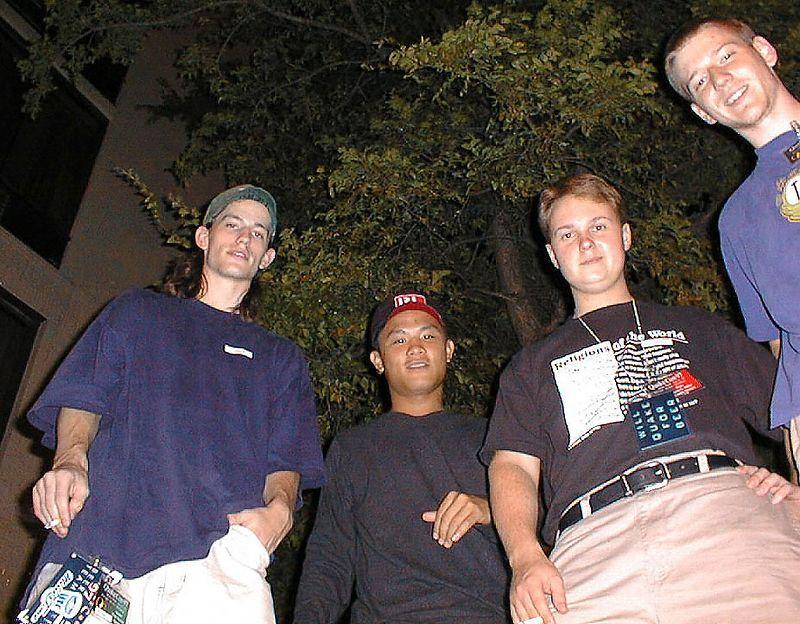 Tanner, SwanSong, Wino, and wendigo.