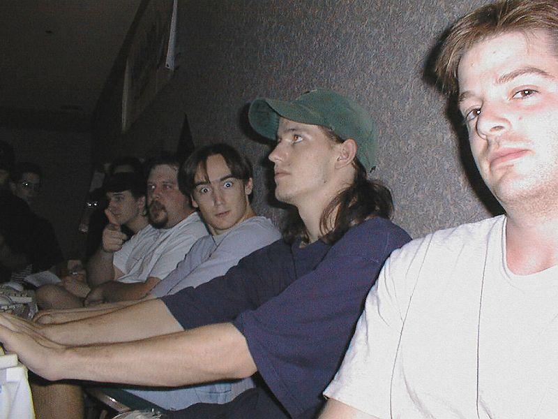^Tsuba, sickman, Avatar, Tanner, and MadMurf overload the server station.