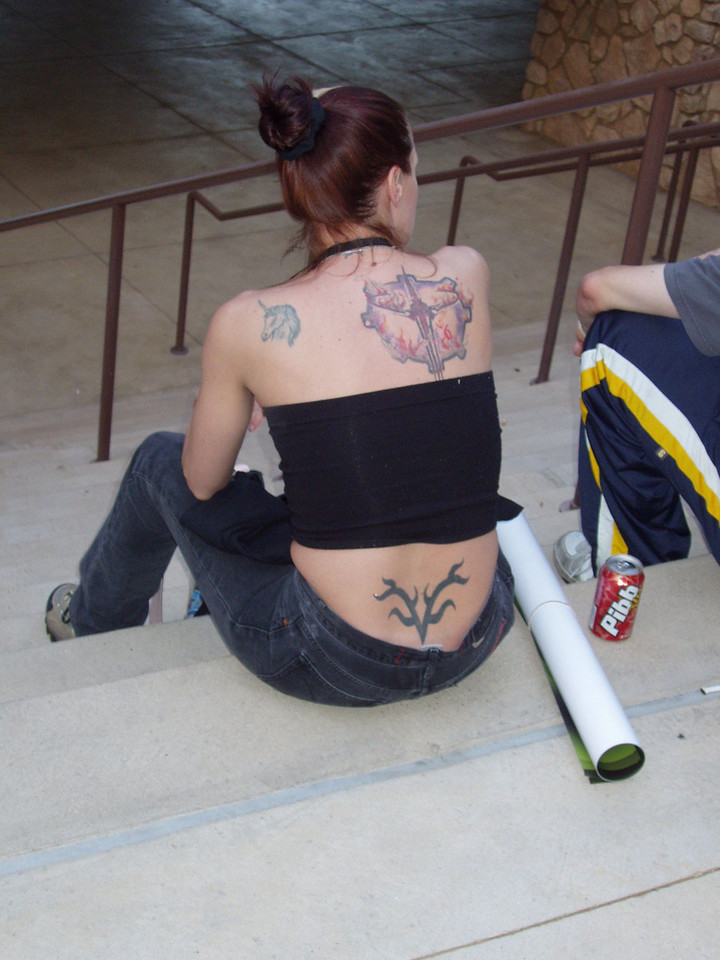 Quake 3 Tattoo!!  Hardcore!