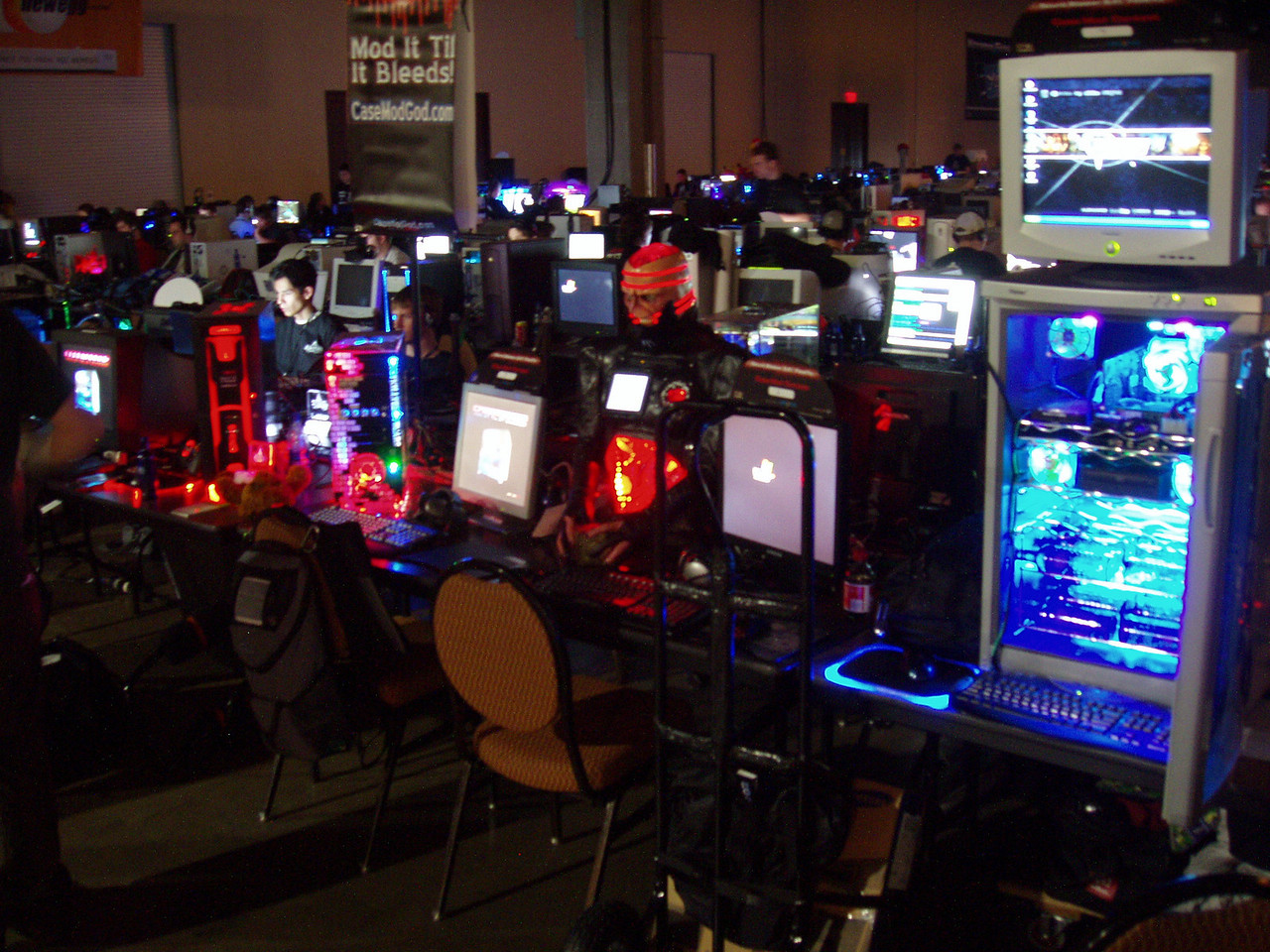 Qcon Day 1 BYOC modded cases