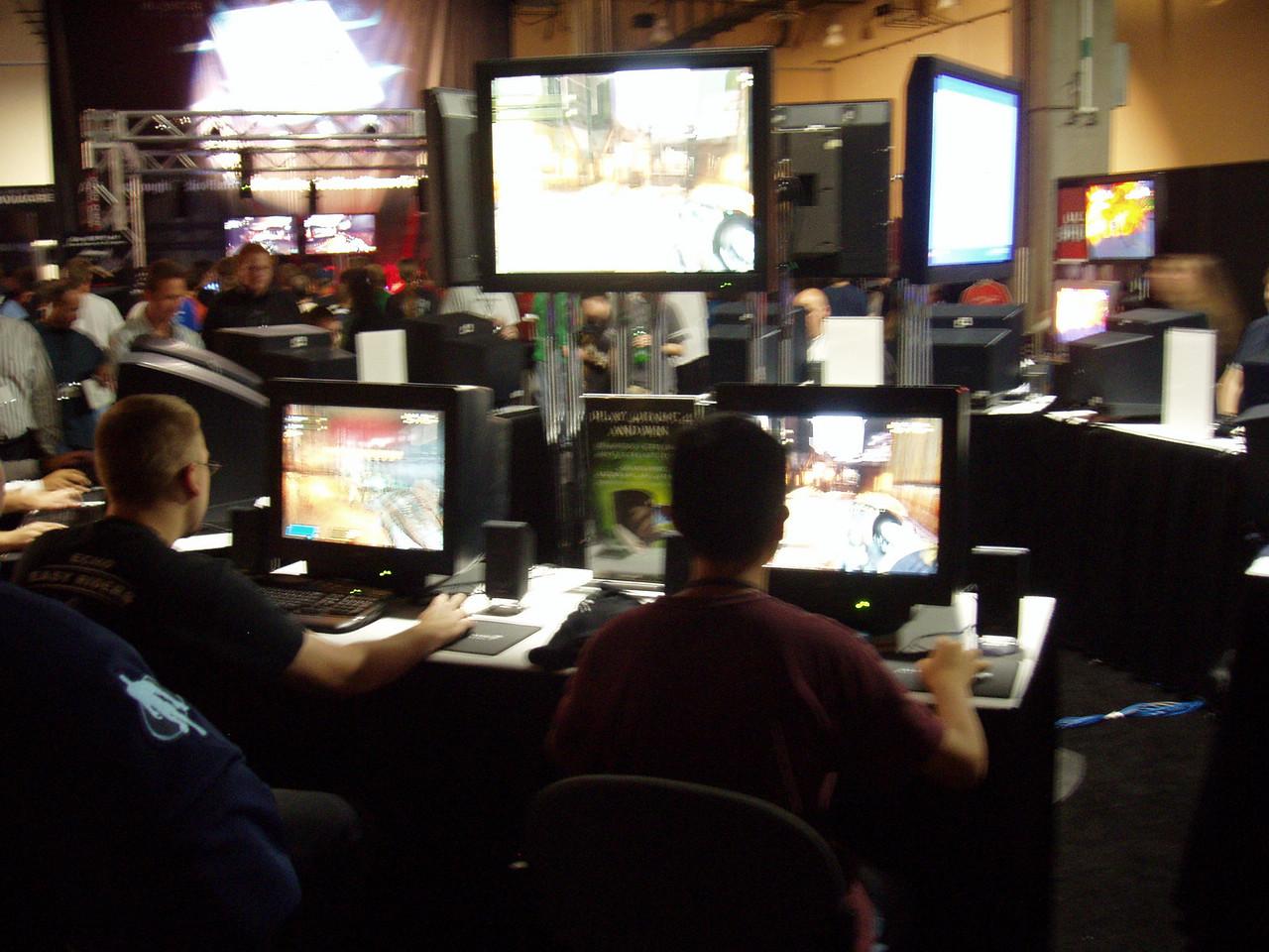 Qcon Day 1 Quake 4 Activision Booth