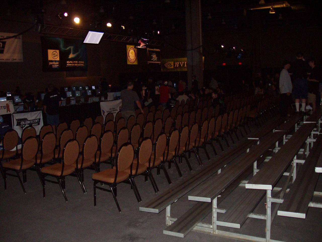 Qcon Day 1 Tournament Area