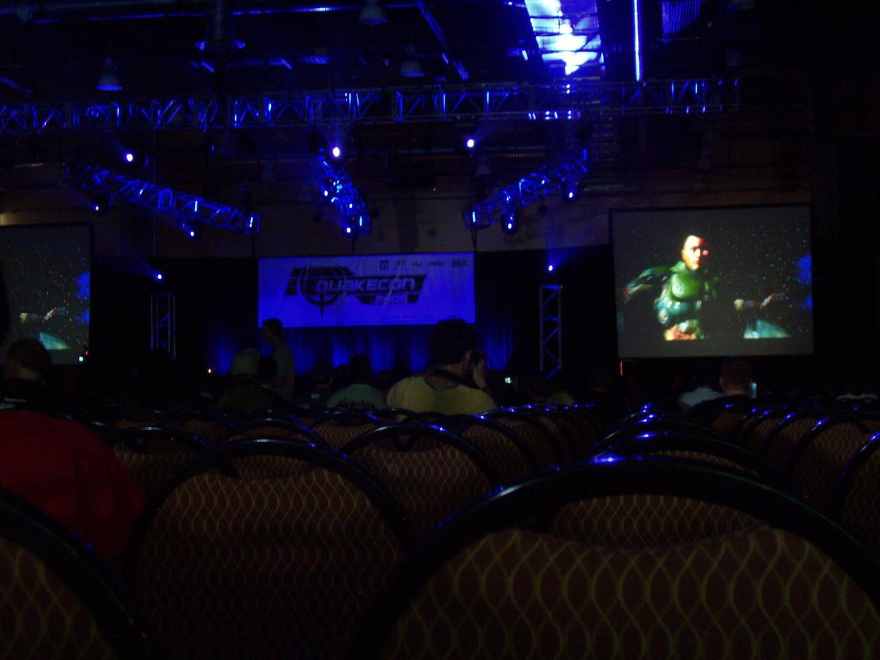 Qcon Day 2 Quake 4 single player presentation