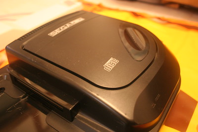 Sega CD model 2 MK-4102A