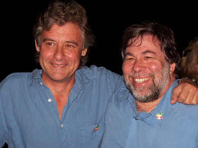 Here's a picture of John Garcia and Steve Wozniak.  I even got the G4 video team over to do a story on the reunion.
