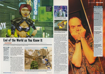Nice article about Tom's Anachronox