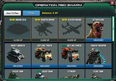 Red Swarm Prizes
