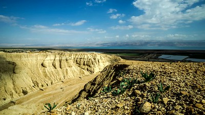 Qumran Caves, the Dead Sea