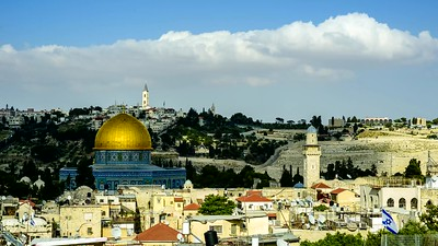 Dome of the Rock and the Mount of Olives