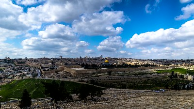 Clouds over Jerusalem