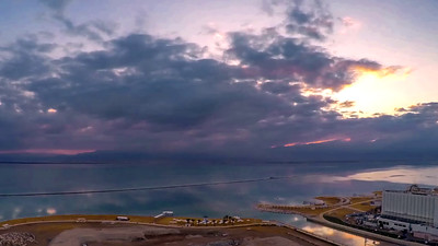 Sunrise at the Dead Sea