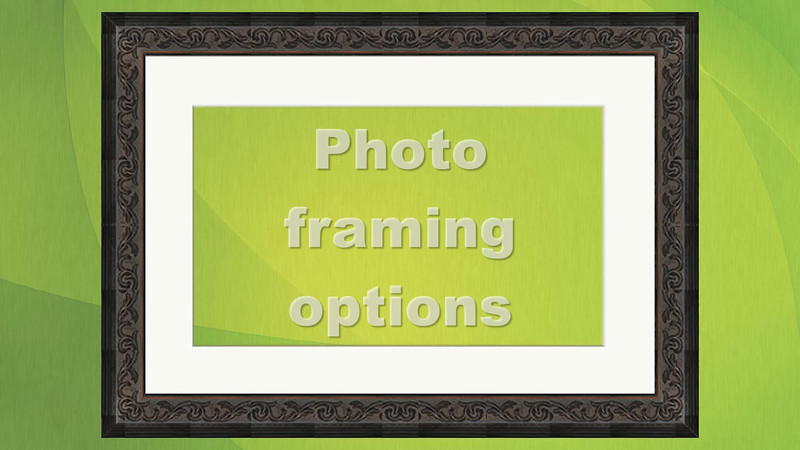 Photo Framing Options by Nick Fowler Photography