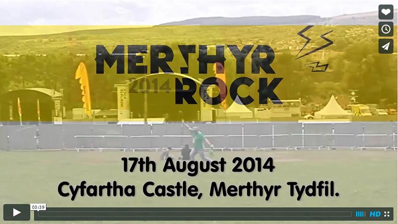 Merthyr Rock live music festival 2014