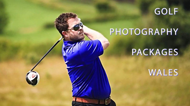 Golfing photography packages in Wales.