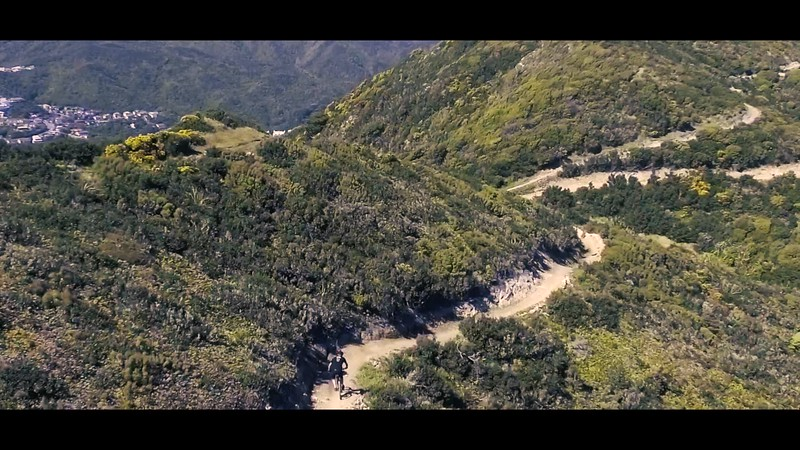 Drone test at Makara Peak