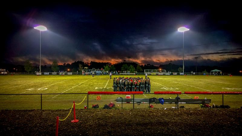 Jordan football cheer - Sept 13, 2014