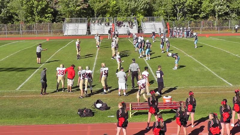Mt Olive HS JV football vs LongValley HS Sept 22, 2014