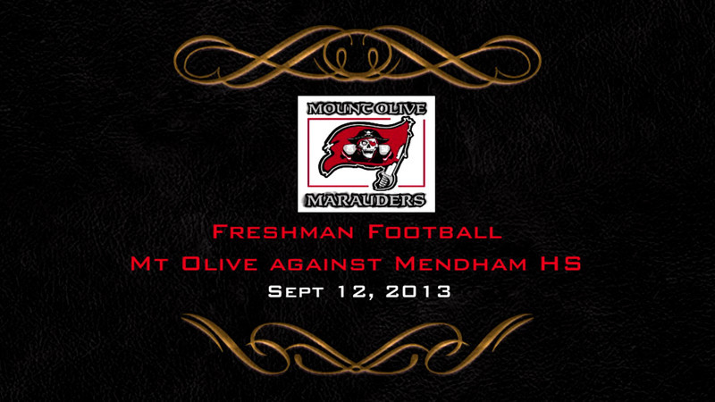 Mt Olive VS Mendham Freshman Football