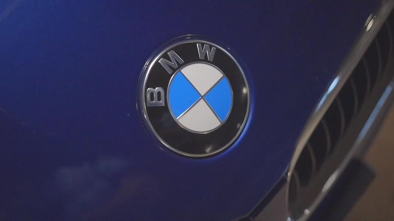 Blue BMW BEST