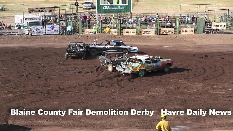 Demolition Derby Blaine County Fair