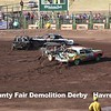Demolition Derby Blaine County Fair