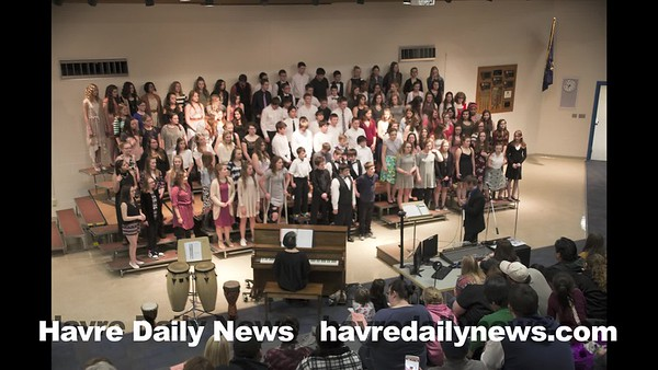 Havre Middle School Choral Festival (Slideshow)