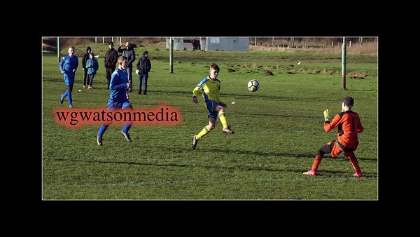 Brandon U15   playing a Saturday morning match