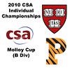 2010 CSA Individuals - Molloy Cup (B Div) Quarters: Jason Michas (Harvard) and Peter Sopher (Princeton)
