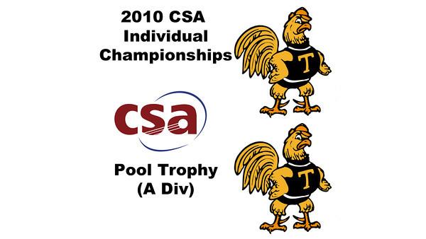 2010 CSA Individuals - Pool Trophy (A Div) Quarters: Antonio Diaz Gonzalez Sala (Trinity) and Parth Sharma (Trinity)