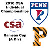 2010 CSA Individuals - Ramsay Cup (A Div) Con Quarters: Neha Kumar (Princeton) and Sydney Scott (Penn)
