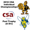2010 CSA Individuals - Pool Trophy (A Div) Quarters: Benjamin Fischer (Rochester) and Andres Vargas (Trinity)