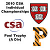 2010 CSA Individuals - Pool Trophy (Div A) Finals: Colin West (Harvard) and Todd Harrity (Princeton)
