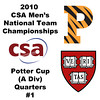 2010 Men's National Team Championships - Potter Cup Quarters, #1s: Colin West (Harvard) and Todd Harrity (Princeton)
