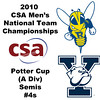 2010 Men's National Team Championships - Potter Cup Semis, #4s: Hywel Robinson (Yale) and Andres Duany (Rochester)