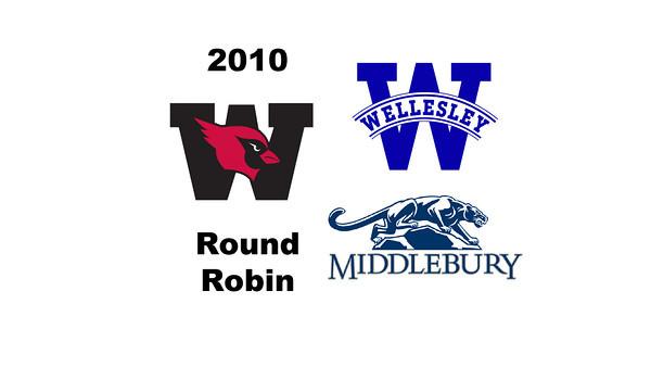 2010 Wesleyan Round Robin: Abigail Jenkins (Middlebury) and Emma Haley (Wellesley)
