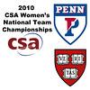 2010 Women's National Team Championships: #3s - June Tiong (Harvard) and Sydney Scott (Penn)