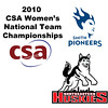 2010 Women's National Team Championships: #2s - Emily Raho (Northeastern) and Margaret Oliverio (Smith)