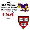 2010 Women's National Team Championships: #4s - Alisha Mashruwala (Harvard) andLaura Henry (Williams)