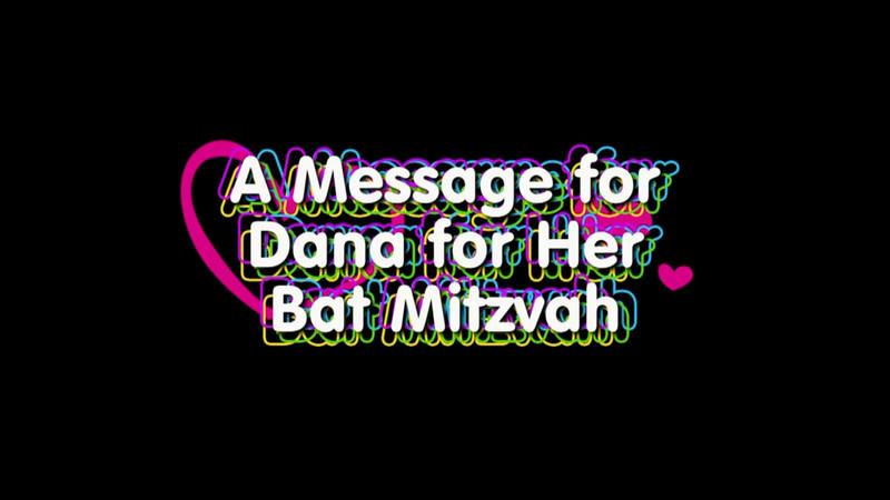 January 30, 2010 - A message for Dana