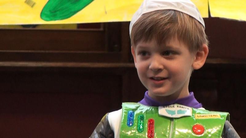 February 25, 2010 - Zachary's Purim Show