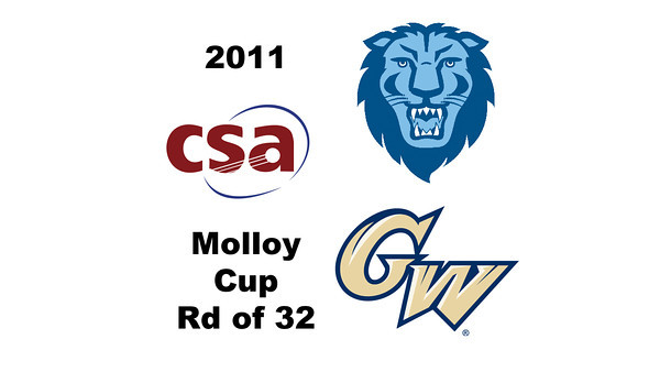 2011 Molloy Cup - Round of 32: Omar Sobhy (George Washington) and Graham Miao (Columbia)