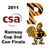2011 Ramsay Cup - Second Consolation Finals: Pamela Hathway (Trinity) and Jackie Moss (Princeton)<br /> <br /> Part 1