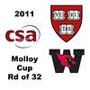 2011 Molloy Cup - Round of 32: Nigel Koh (Harvard) and John Steele (Wesleyan)