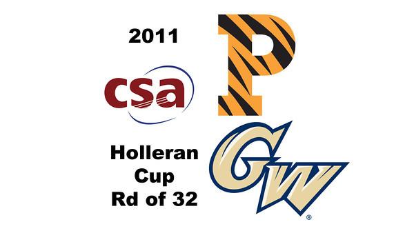 2011 Holleran Cup - Round of 32: Katherine Giovinazzo (Princeton) and Kelly Barnes (George Washington)