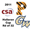 2011 Holleran Cup - Round of 32: Katherine Giovinazzo (Princeton) and Kelly Barnes (George Washington)