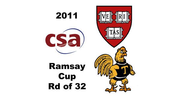 2011 Ramsay Cup - Round of 32: Sarah Mumanachit (Harvard) and Catalina Pelaez (Trinity)<br /> <br /> Game 5