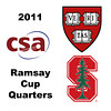 2011 Ramsay Cup - Quarters: Laura Gemmell (Harvard) and Pamela Chua	(Stanford)