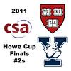 2011 Howe Cup - Finals - #2s: Millie Tomlinson (Yale) and Nirasha Guruge (Harvard)<br /> <br /> Part 2