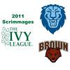 2011 Ivy League Scrimmages (Women): #3s Mina Shakarshy (Brown) and Kate Calihan (Columbia)